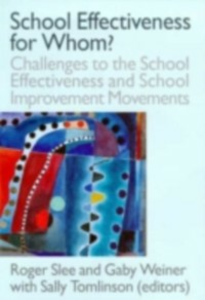Ebook in inglese School Effectiveness for Whom? -, -