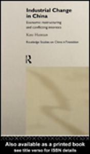 Ebook in inglese Industrial Change in China Hannan, Kate