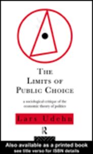 Ebook in inglese The Limits of Public Choice Udehn, Lars