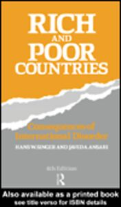 Foto Cover di Rich and Poor Countries, Ebook inglese di Javed Ansari,Hans Singer, edito da