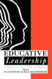 Ebook in inglese Educative Leadership