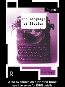 Ebook in inglese The Language of Fiction Sanger, Keith