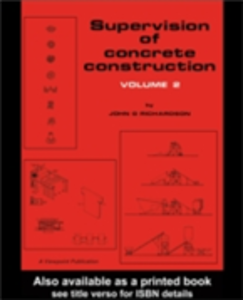 Ebook in inglese Supervision of Concrete Construction 2 Richardson, J.G.