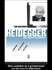 Heidegger and French Philosophy