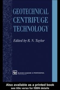 Ebook in inglese Geotechnical Centrifuge Technology