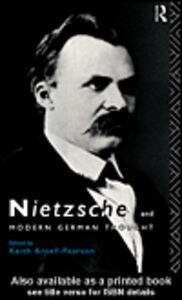 Ebook in inglese Nietzsche and Modern German Thought