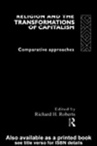Ebook in inglese Religion and The Transformation of Capitalism