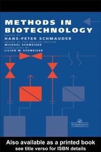 Ebook in inglese Methods In Biotechnology -, -