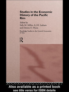 Ebook in inglese Studies in the Economic History of the Pacific Rim