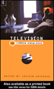 Ebook in inglese Television and Common Knowledge