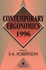 Ebook in inglese Contemporary Ergonomics 1996 -, -