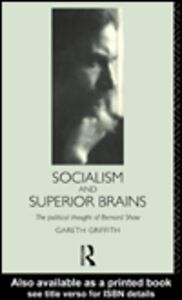 Ebook in inglese Socialism and Superior Brains Griffith, Gareth