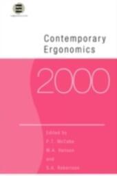 Contemporary Ergonomics