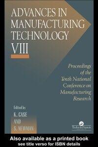 Foto Cover di Advances In Manufacturing Technology VIII, Ebook inglese di  edito da Taylor and Francis