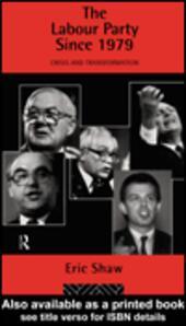 The Labour Party Since 1979
