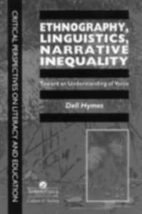 Ebook in inglese Ethnography, Linguistics, Narrative Inequality Hymes., Dell