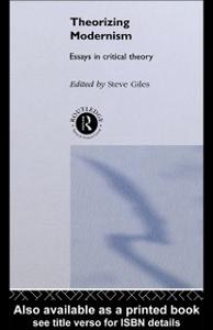 Ebook in inglese Theorizing Modernisms -, -