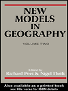 Ebook in inglese New Models in Geography