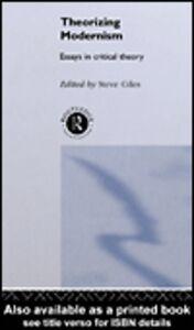 Ebook in inglese Theorizing Modernisms