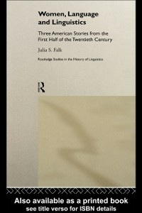 Ebook in inglese Women, Language and Linguistics Falk, Julia S.