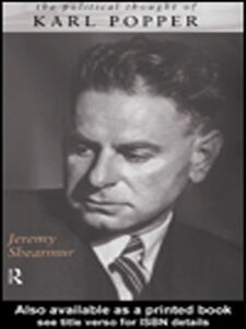 Ebook in inglese The Political Thought of Karl Popper Shearmur, Jeremy