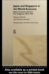 Ebook in inglese Japan and Singapore in the World Economy Hirakawa, Hitoshi , Shimizu, Hiroshi