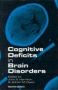 Ebook in inglese Cognitive Deficits in Brain Disorders Harrison, John , Owen, Adrian