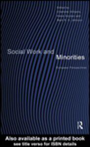 Ebook in inglese Social Work and Minorities