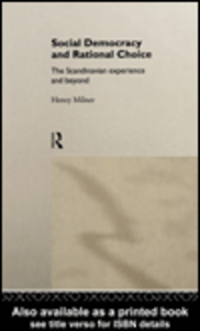 Ebook in inglese Social Democracy and Rational Choice Milner, Henry