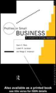 Ebook in inglese Profiles in Small Business Anderson, Margo E. , Jacobsen, Lowell R. , Reid, Gavin C.