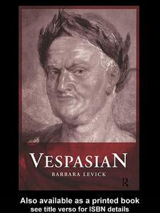 Foto Cover di Vespasian, Ebook inglese di Barbara Levick, edito da
