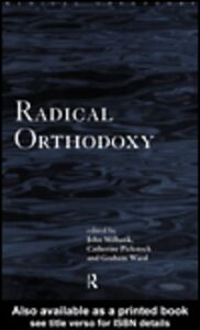 Foto Cover di Radical Orthodoxy, Ebook inglese di AA.VV edito da
