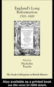 Foto Cover di England's Long Reformation, Ebook inglese di  edito da Taylor and Francis