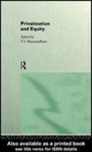 Foto Cover di Privatization and Equity, Ebook inglese di V. V. Ramanadham, edito da