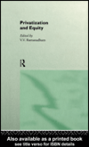 Ebook in inglese Privatization and Equity