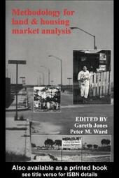 Methodology For Land And Housing Market Analysis