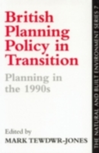 Ebook in inglese British Planning Policy In Transition -, -