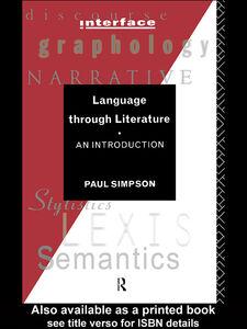 Ebook in inglese Language Through Literature Simpson, Paul
