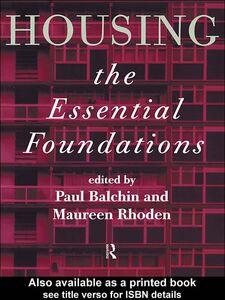 Foto Cover di Housing, Ebook inglese di Maureen Rhoden,Paul Balchin, edito da