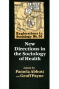 Ebook in inglese New Directions In The Sociology Of Health -, -