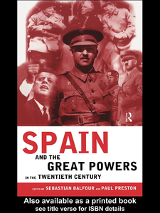 Ebook in inglese Spain and the Great Powers in the Twentieth Century