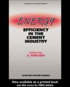 Ebook in inglese Energy Efficiency in the Cement Industry