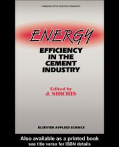 Ebook in inglese Energy Efficiency in the Cement Industry -, -