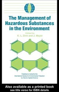 Ebook in inglese Management of Hazardous Substances in the Environment -, -