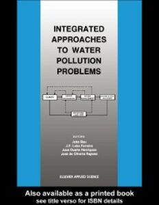 Foto Cover di Integrated Approaches to Water Pollution Problems, Ebook inglese di  edito da Taylor and Francis