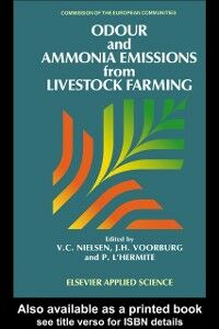 Ebook in inglese Odour and Ammonia Emissions from Livestock Farming -, -