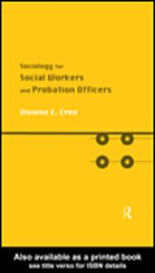 Foto Cover di Sociology for Social Workers and Probation Officers, Ebook inglese di Viviene E. Cree, edito da