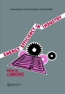 Foto Cover di Energy Efficiency in Industry, Ebook inglese di  edito da Taylor and Francis