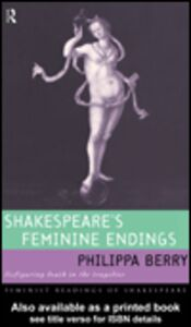 Foto Cover di Shakespeare's Feminine Endings, Ebook inglese di Philippa Berry, edito da