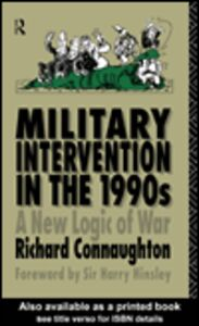 Ebook in inglese Military Intervention in the 1990s Connaughton, Richard